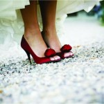 Custom dyed shoes for brides